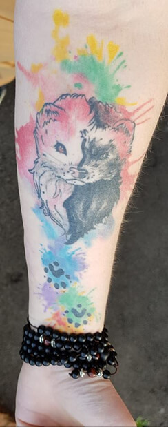 Ferret Tattoo 3