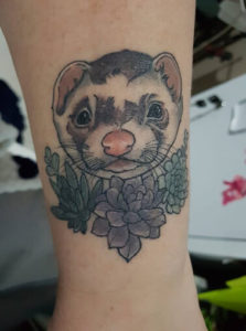 Ferret Tattoo 5
