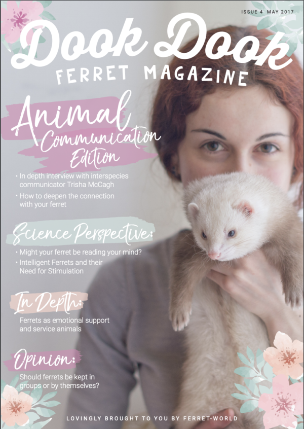 Dook Dook Ferret Magazine Issue 4 - Animal Communication Edition