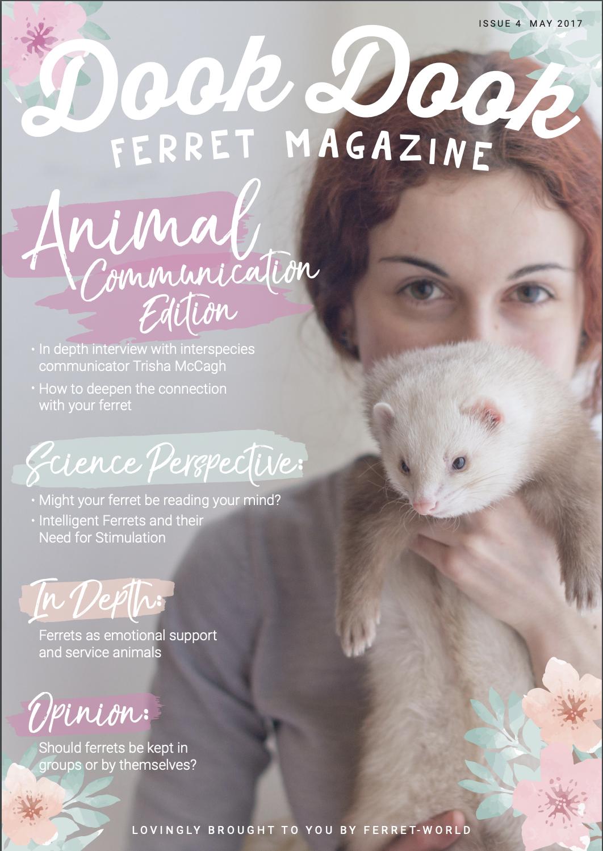 Dook Dook Ferret Magazine Issue 4 - Animal Communication Edition