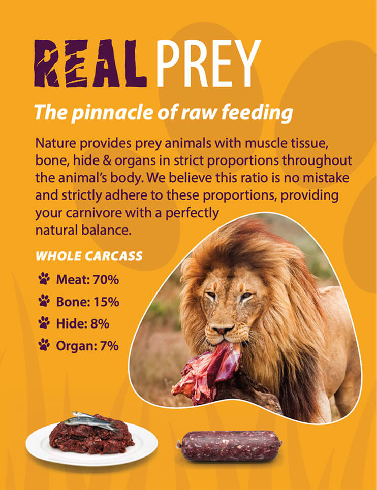 Real prey - The-pinnacle of raw feeding